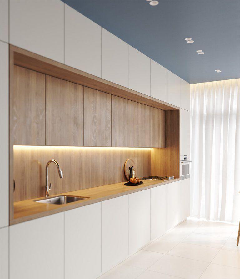 đèn trang trí cho tủ bếp